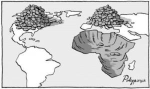 afrika ausbeuten