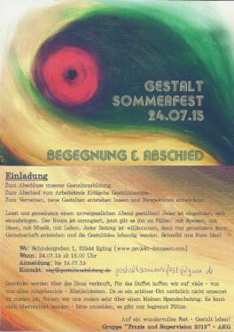 Gestaltfest 2015