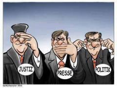 Justiz-Presse-Politik
