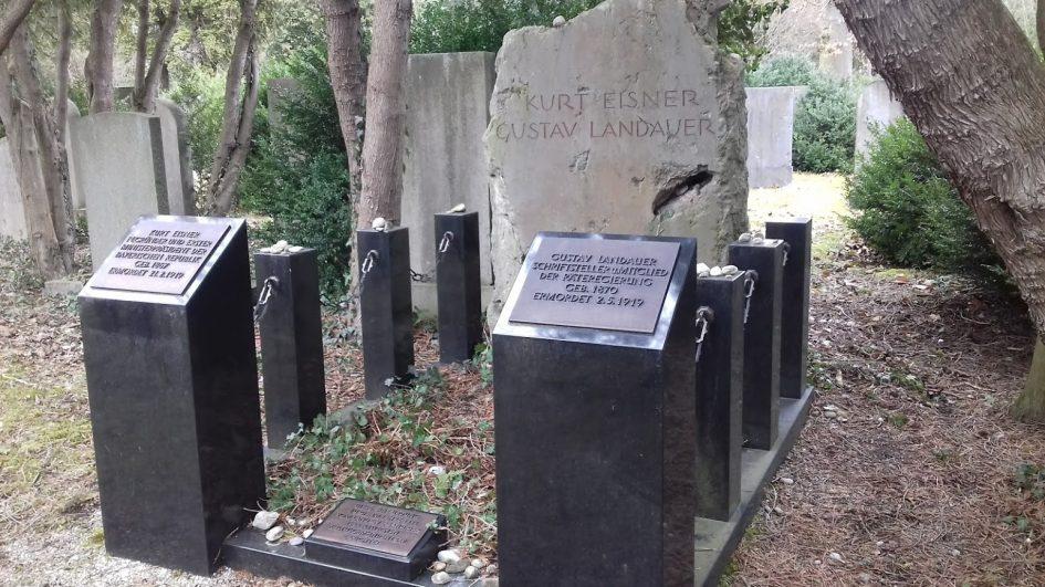 Kurt Eisner und Gustav Landauer Grab