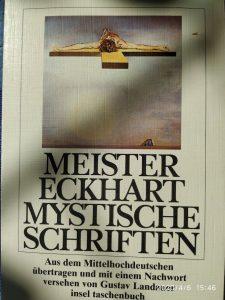 Meister Eckhart Mythische Schriften Gustav Landauer