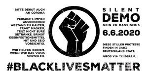 Nein-zu-Rassismus-Silent-Demo-20200606-BlackLivesMatter