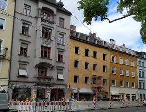 Johannisplatz ohne Fenster