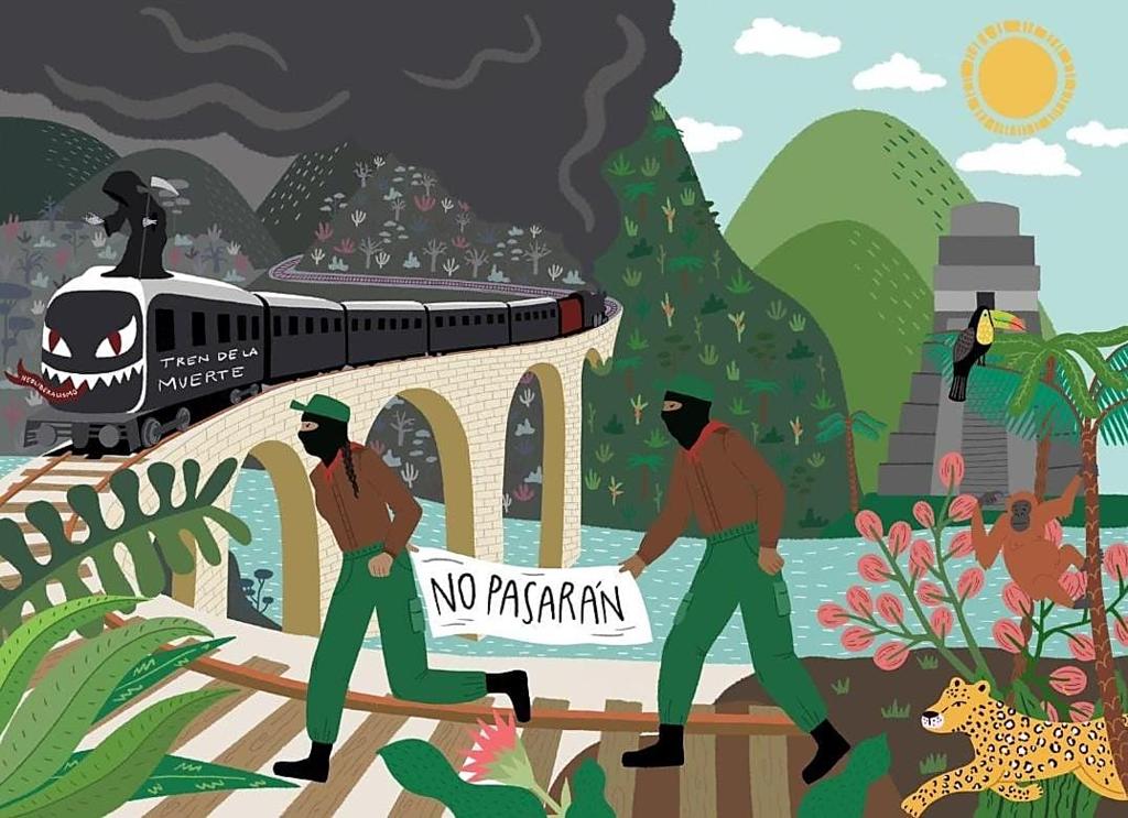 no tren de la muerte maya